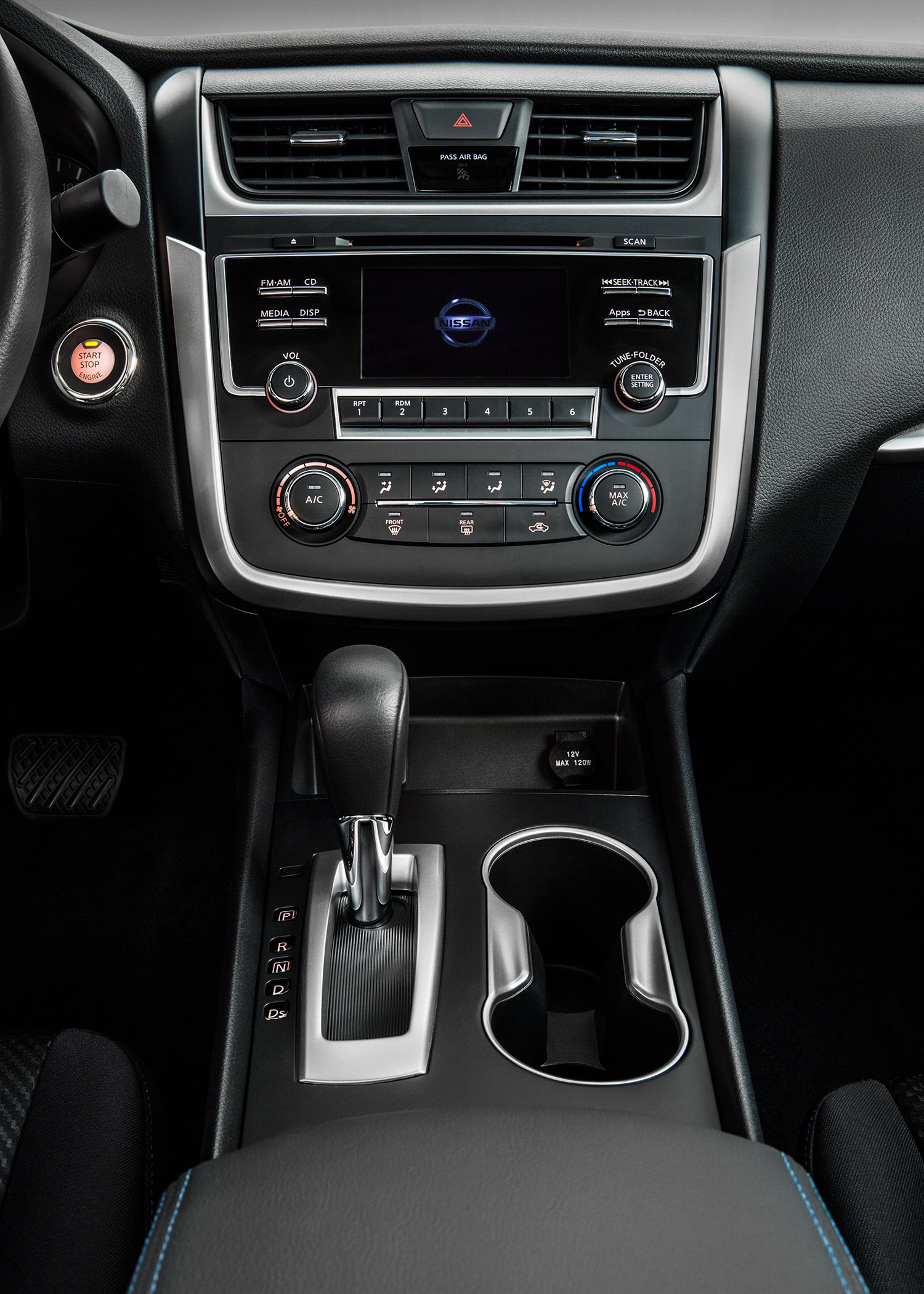2016-Nissan-Altima-SR-interior-tall-view Take A Look About Nissan Altima 2016 Interior with Terrific Pictures Cars Review