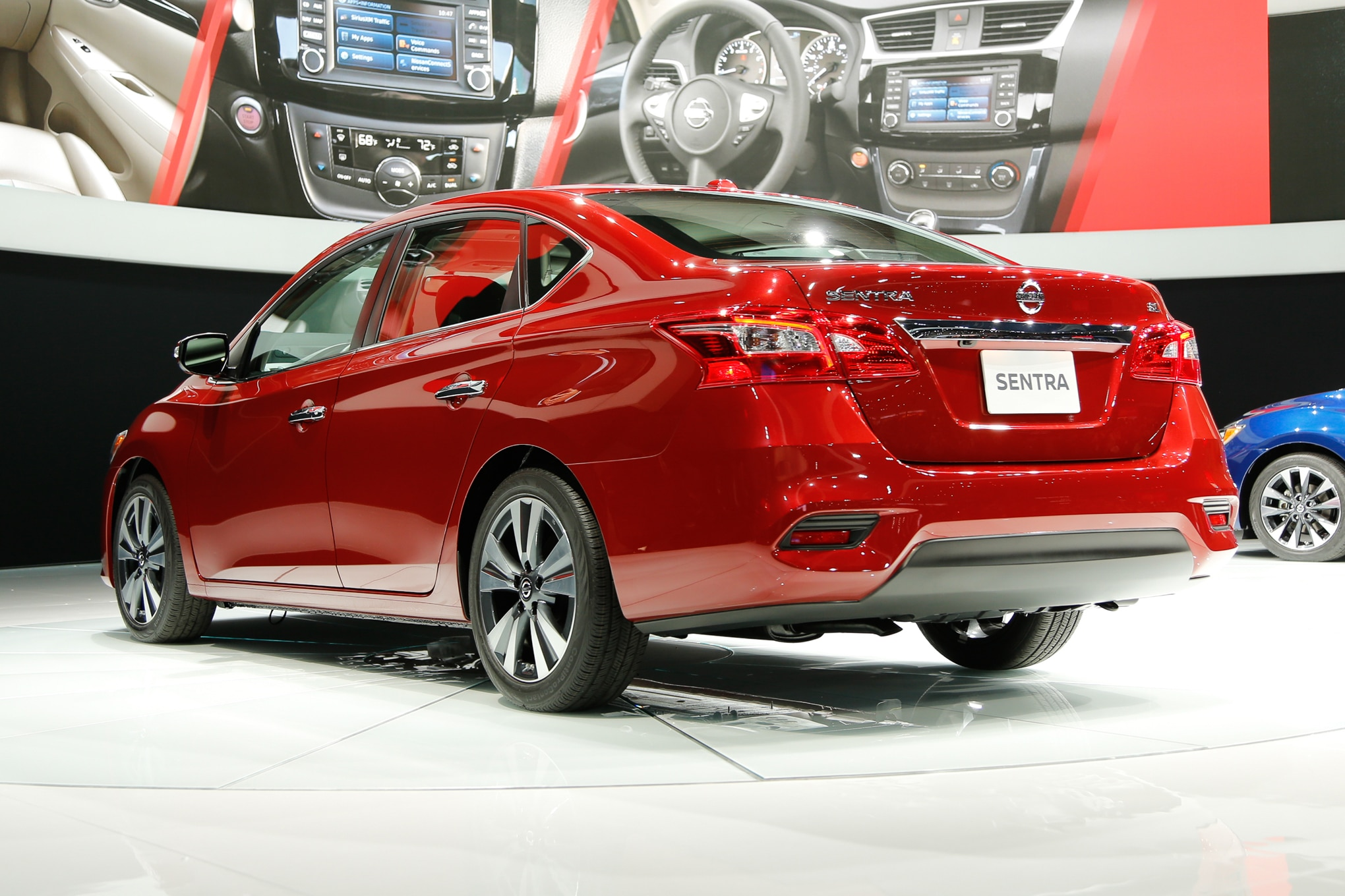2015 Nissan Maxima For Sale >> 2016 Nissan Sentra Refreshed, Looks More like Altima and ...