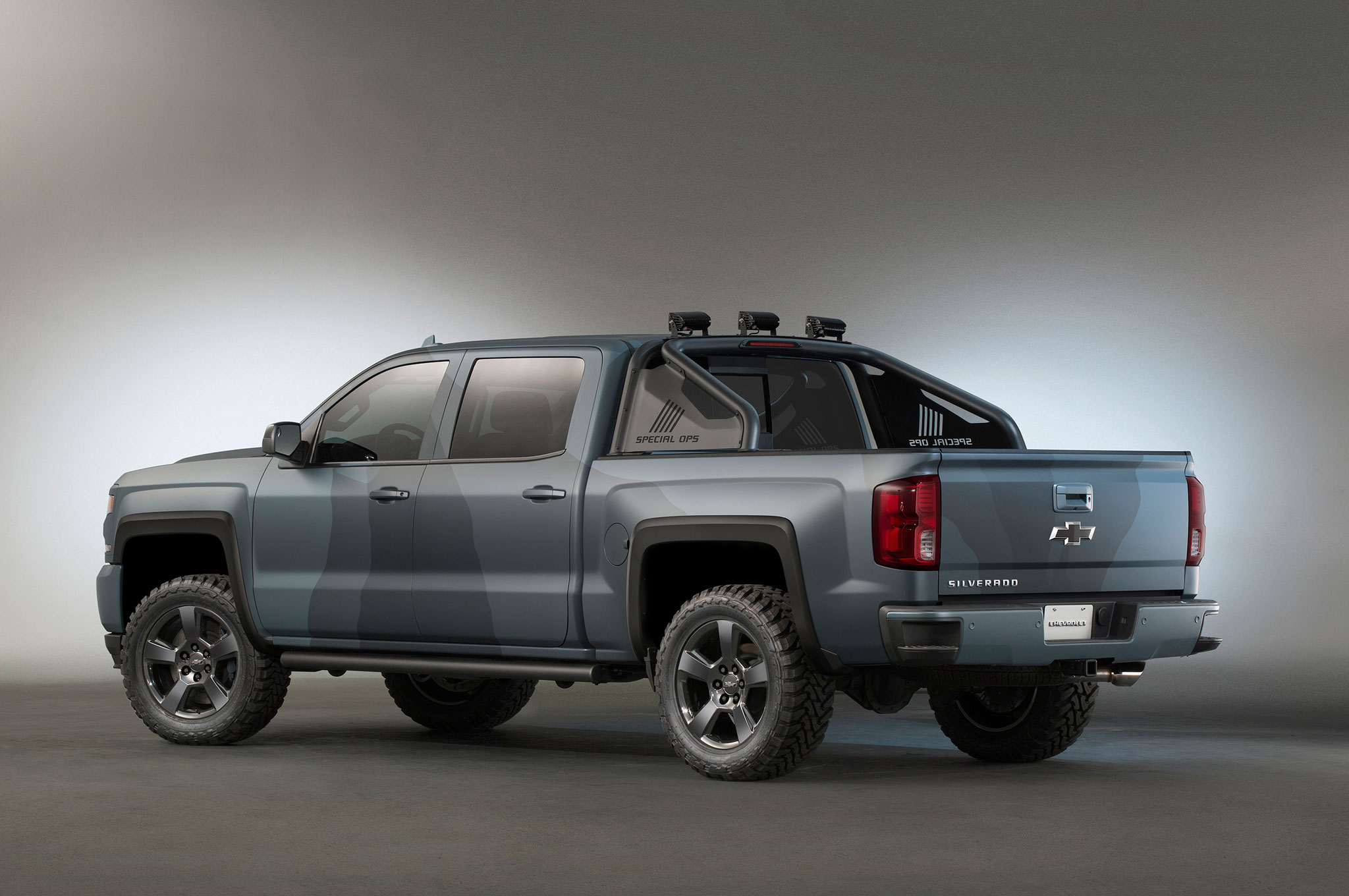 Chevrolet Silverado Kid Rock, Special Ops Concepts Unveiled at SEMA