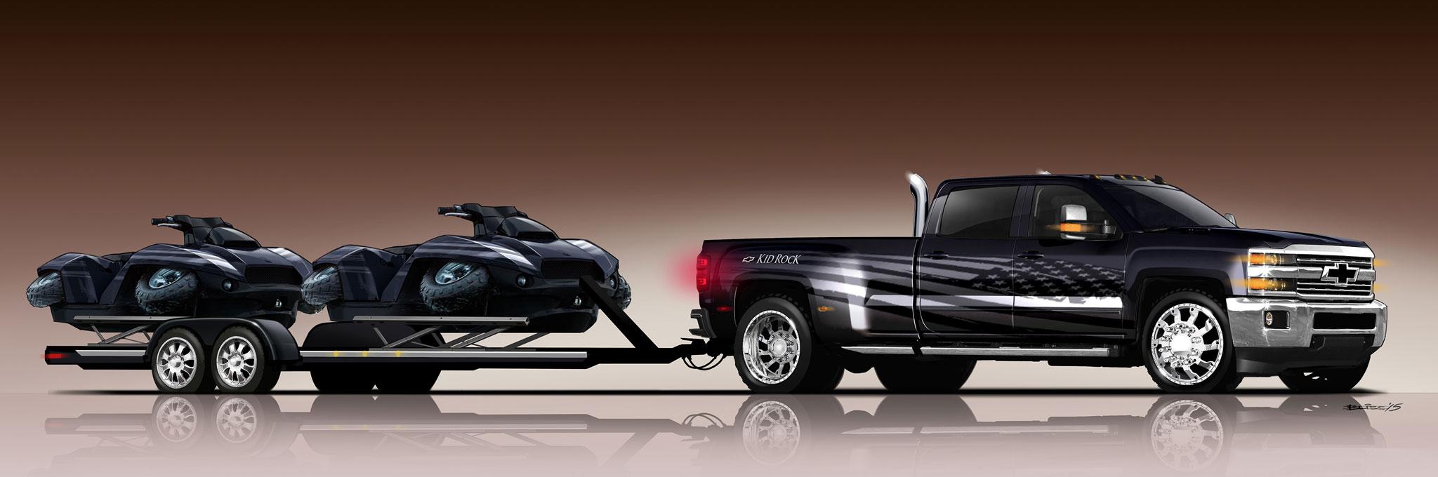 Chevrolet Silverado Kid Rock, Special Ops Concepts ...