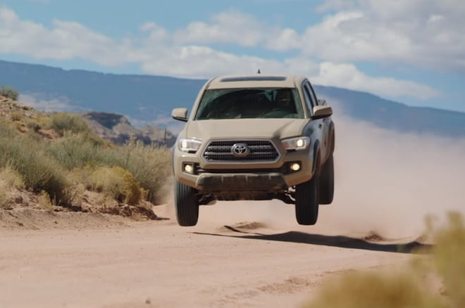 2016 Toyota Tacoma Epic Drives