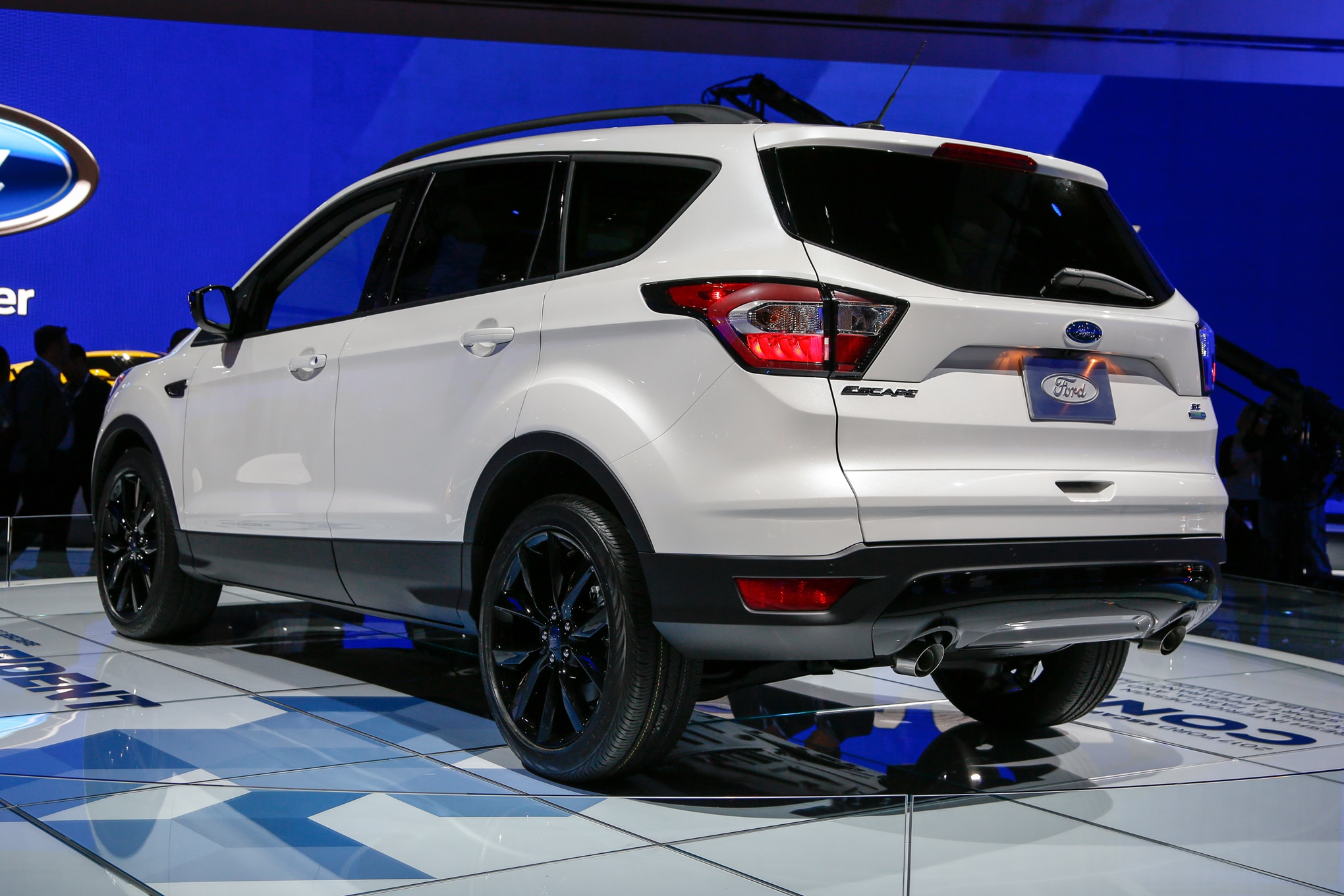 Ford Also Says It Has Retuned The 2017 Escape S Rear