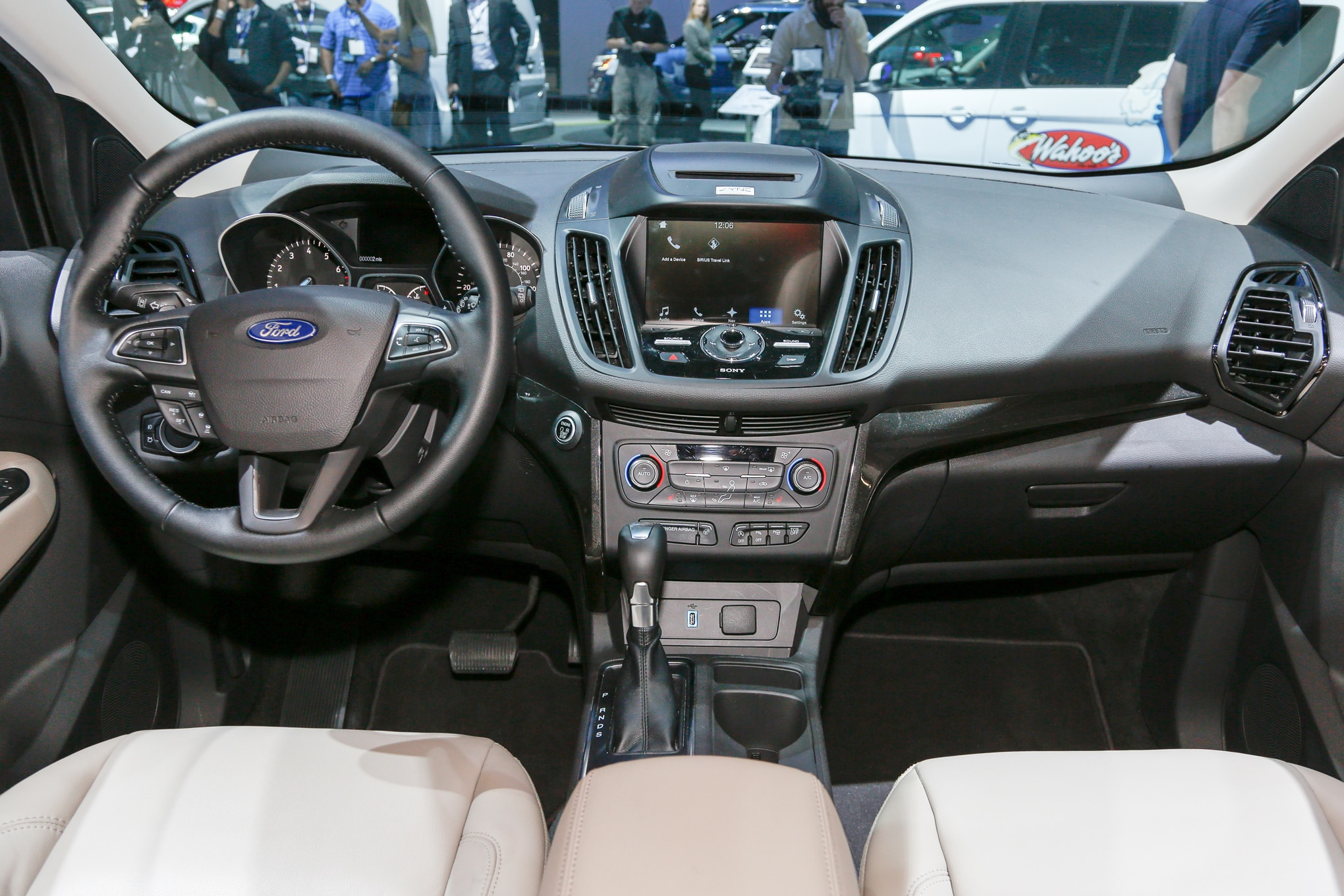 A Heated Steering Wheel Adaptive Cruise Control Lane Departure Warning And A Sync Connect Smartphone App That Can Unlock The Doors Start The Engine