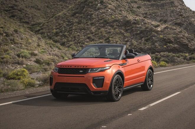 2017 Land Rover Range Rover Evoque Convertible Front Three Quarter 1