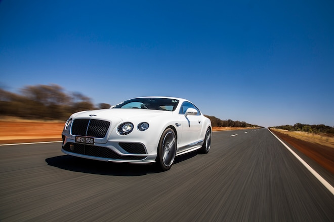 Bentley Continental GT Speed Australia Front Three Quarters1