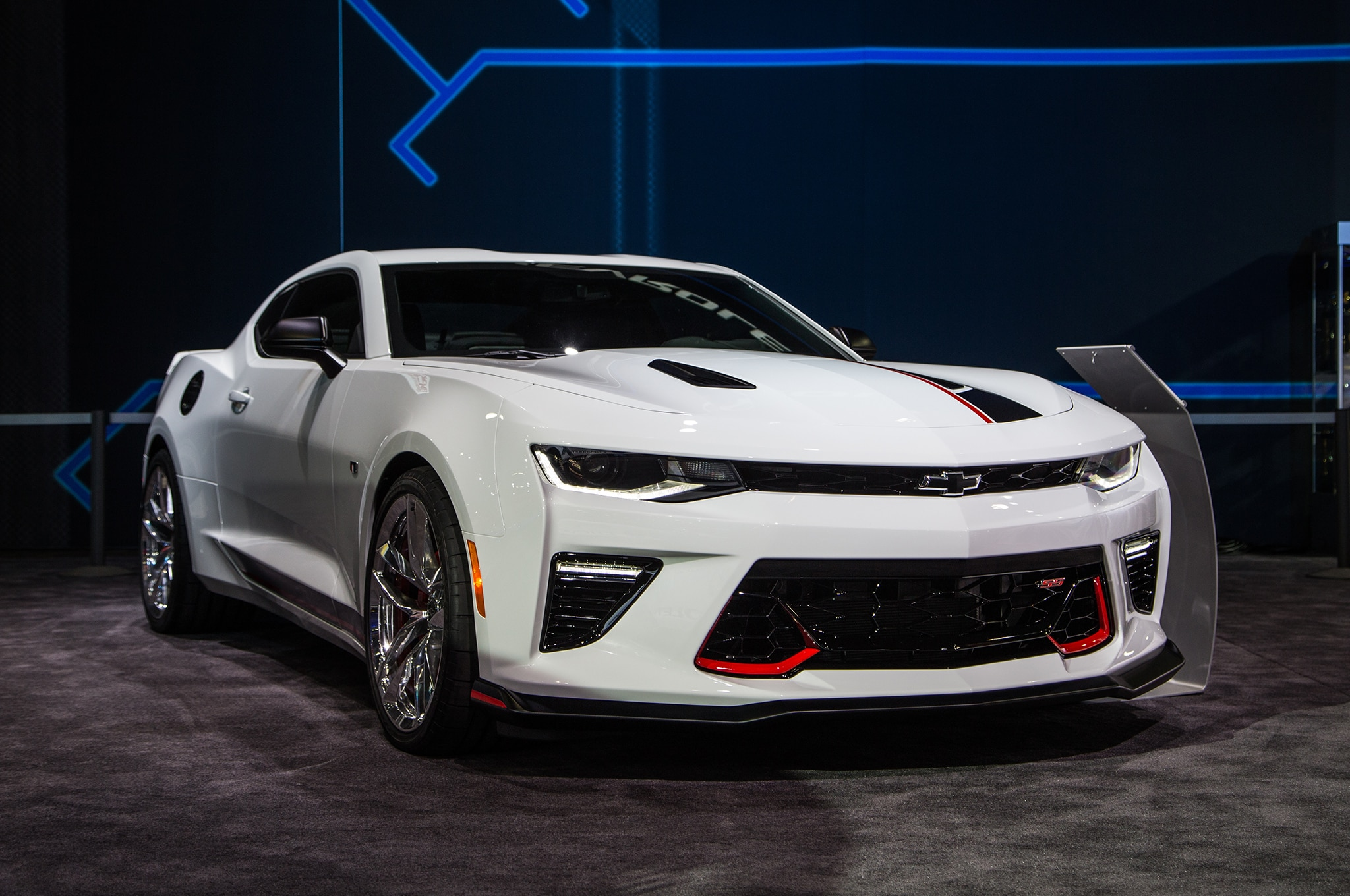 Chevrolet Camaro Performance Concept Front Three Quarter