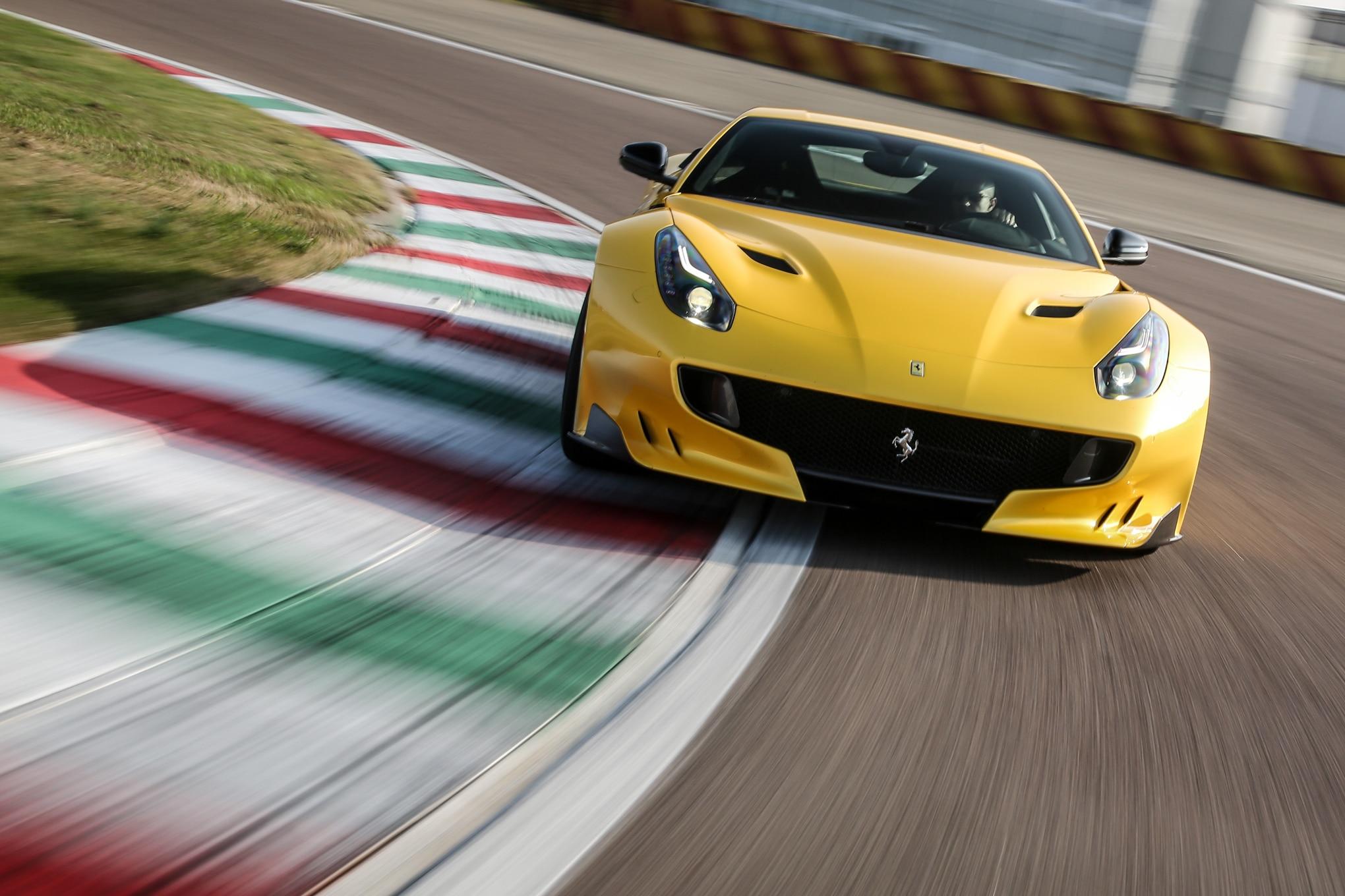 Ferrari F12tdf Front End In Motion 041