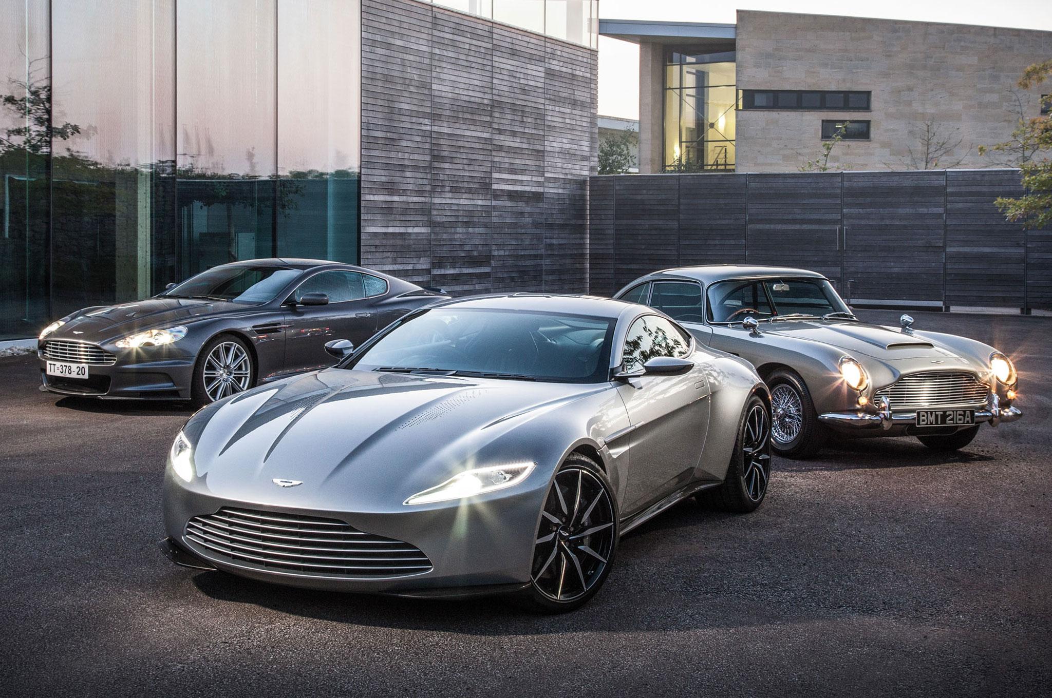 Bulletproof Driving James Bonds Aston Martin DB DBS And DB - Aston martin db 10