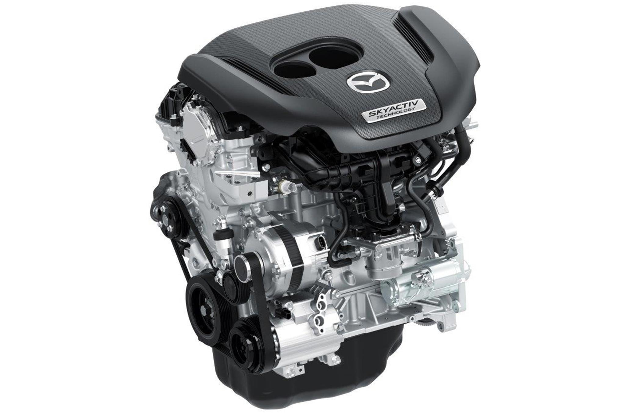 Mazda 25T Skyactiv G Engine