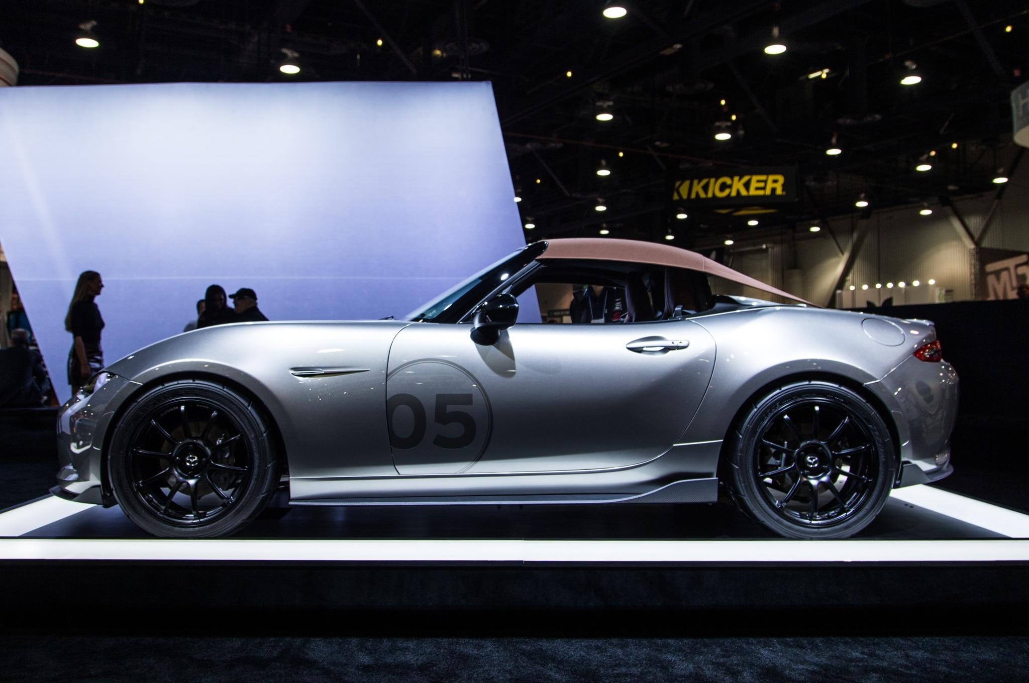 2016 Mazda MX-5 Miata Spyder, Speedster Concepts Shed Weight at SEMA