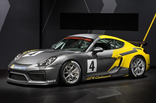 Porsche Cayman GT4 Clubsport Front Three Quarter2