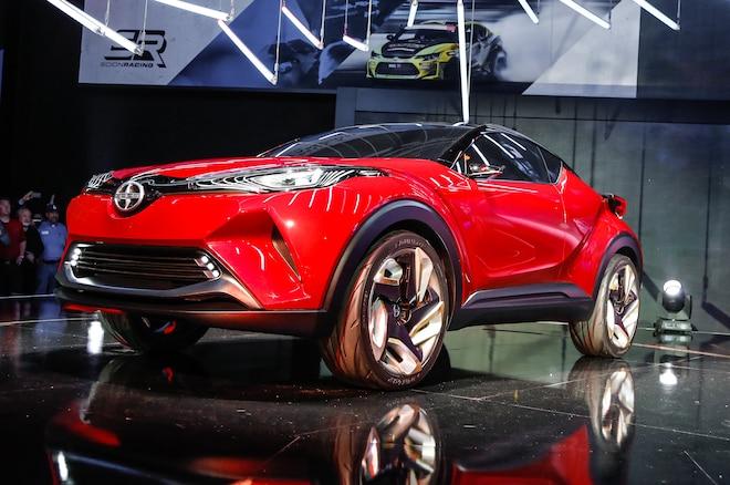 Scion C HR Concept Front Three Quarter 01