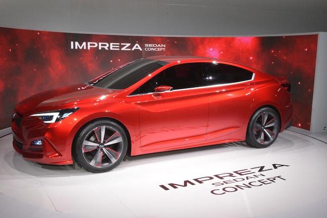 Subaru Impreza Sedan Concept Side 03