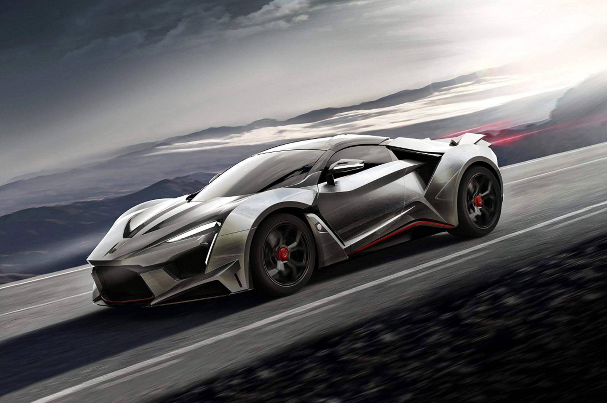 W Motors Fenyr >> W Motors Reveals 900-HP Fenyr SuperSport Hypercar