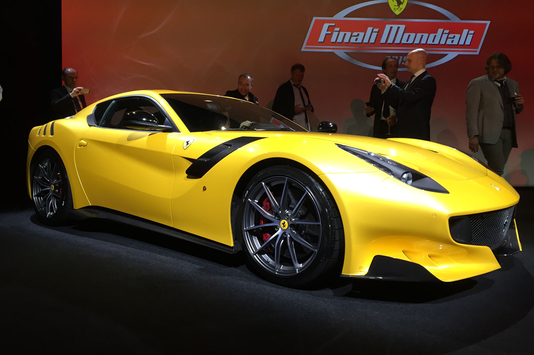 Ferrari F12 Tdf Reveal Front Three Quarters