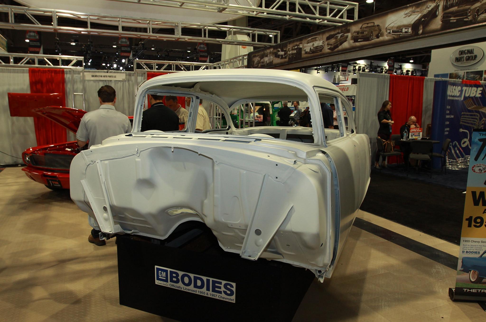 001 SEMA Replica Car Bill Is Law Woodys 1955 Chevy