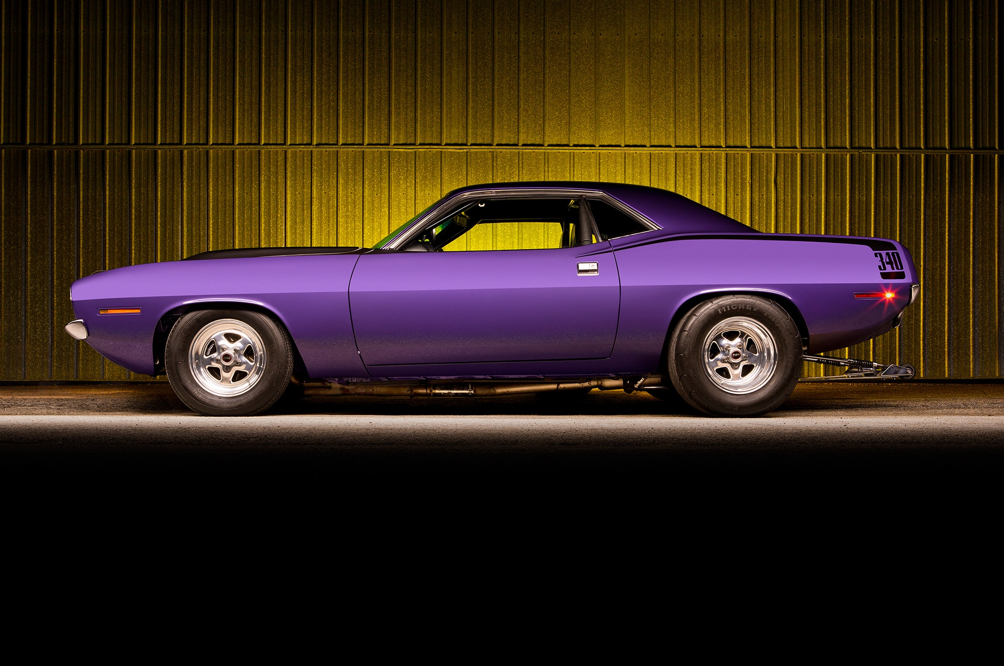Purple Terror: How to Get 1,000 HP Out of a 1970 Plymouth Barracuda