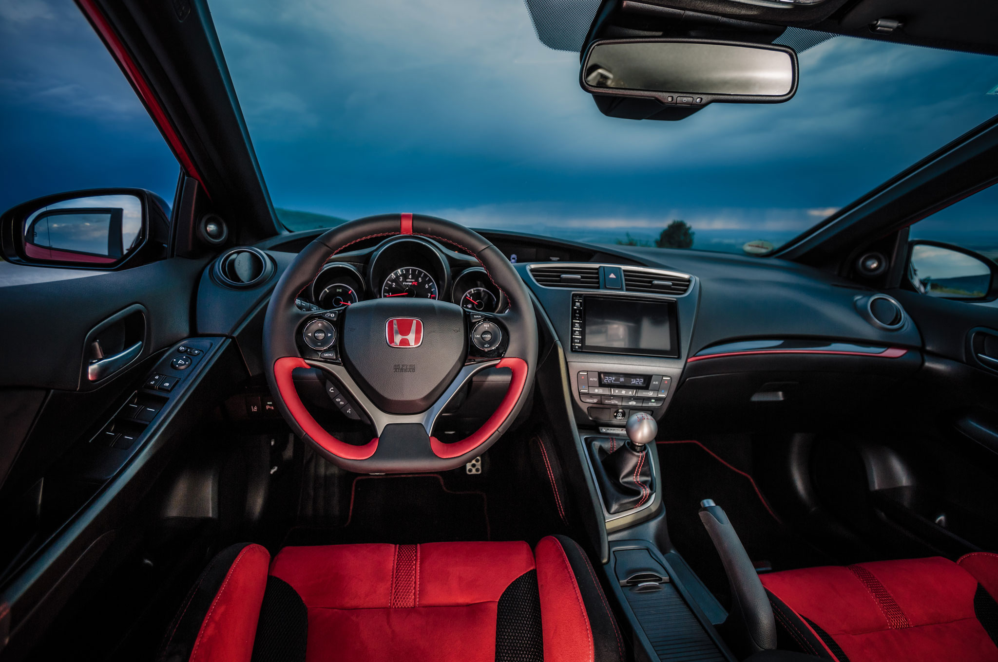 Will the honda civic si get a detuned 230 hp type r engine - 2016 honda civic si coupe interior ...