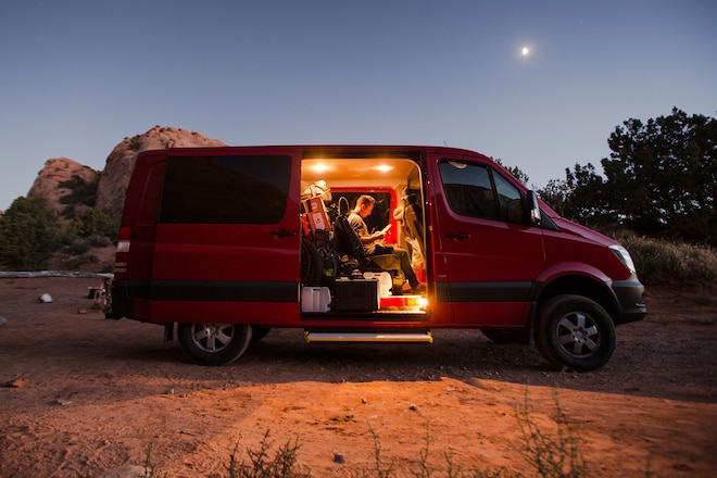 In Search of Adventure in the 2015 Mercedes-Benz Sprinter