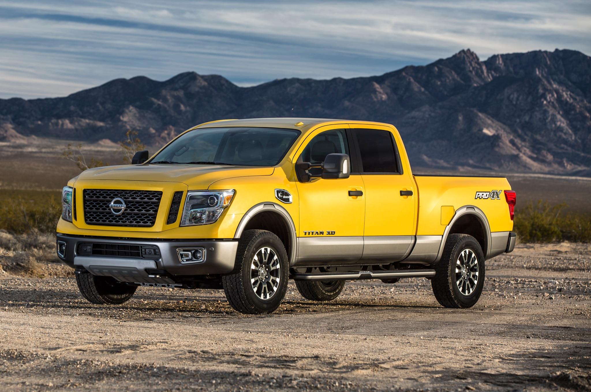 2016 Nissan Titan Xd Gains 5 6 Liter Gasoline V 8 Engine