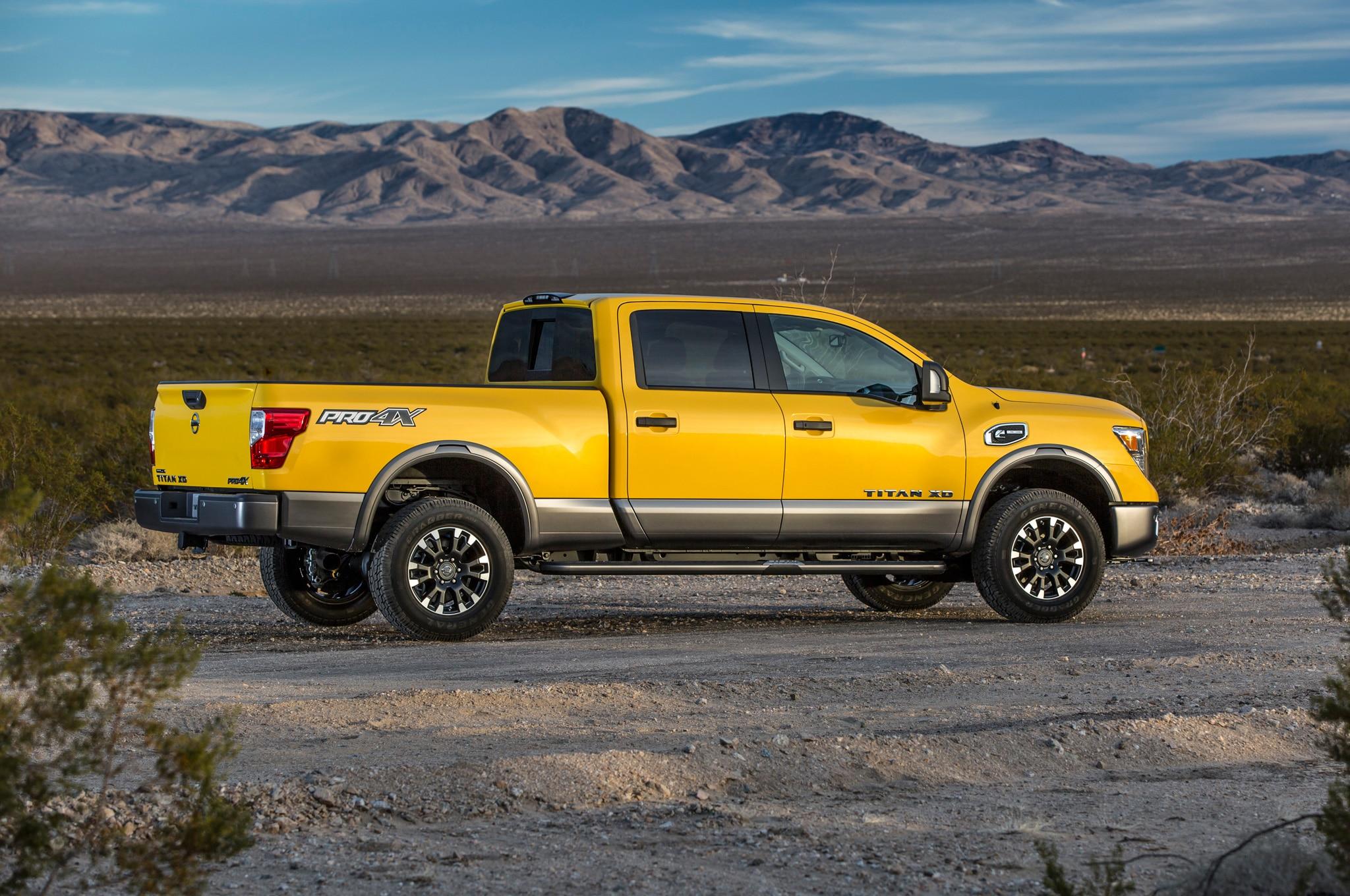 2016 Nissan Titan XD Diesel Starts at $41,485