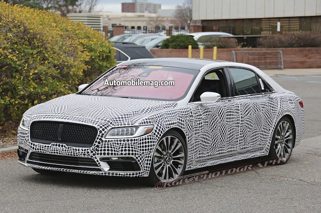 Lincoln Continental Spyshot Front Three Quarters 31