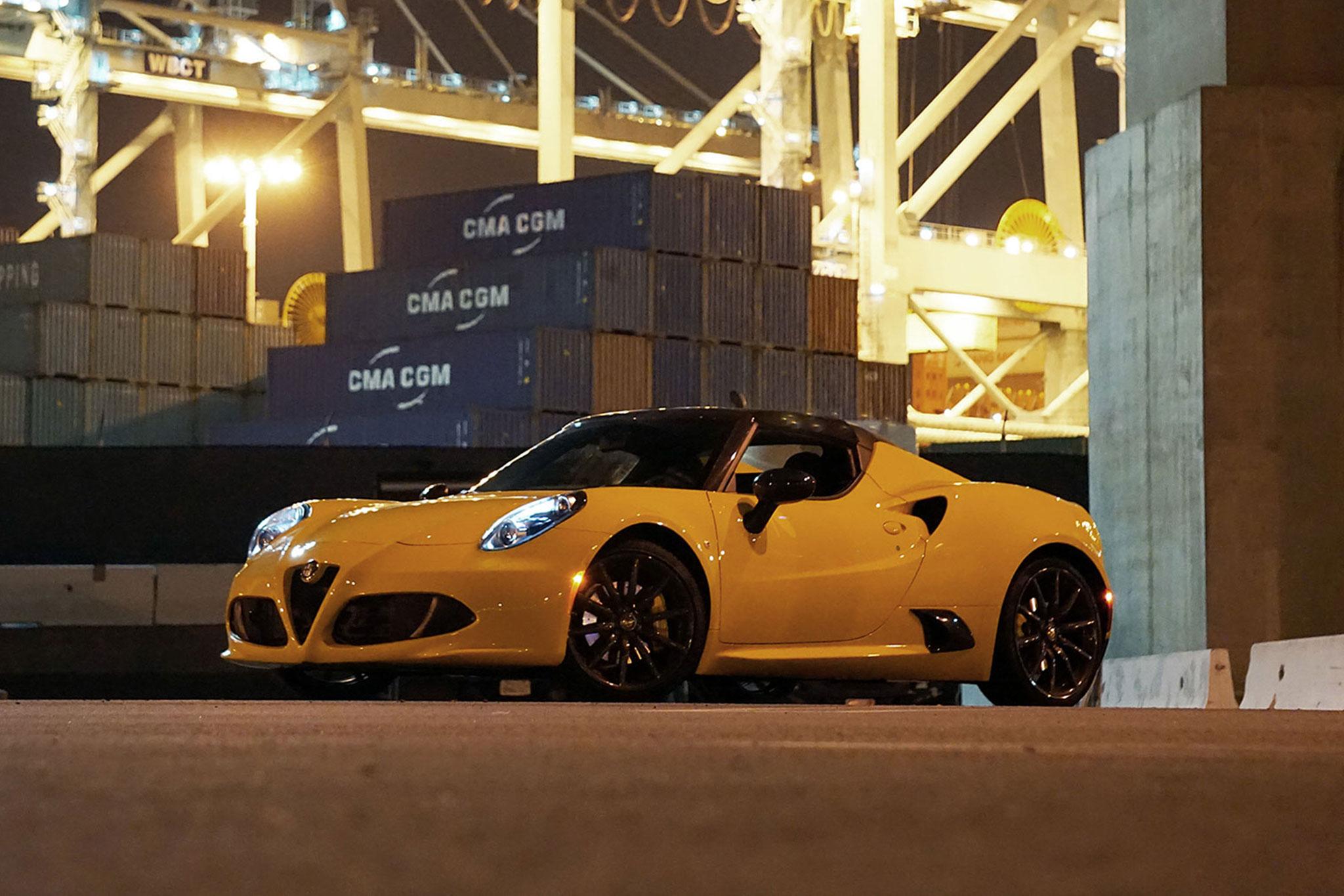 2015 Alfa Romeo 4C Spider Lead