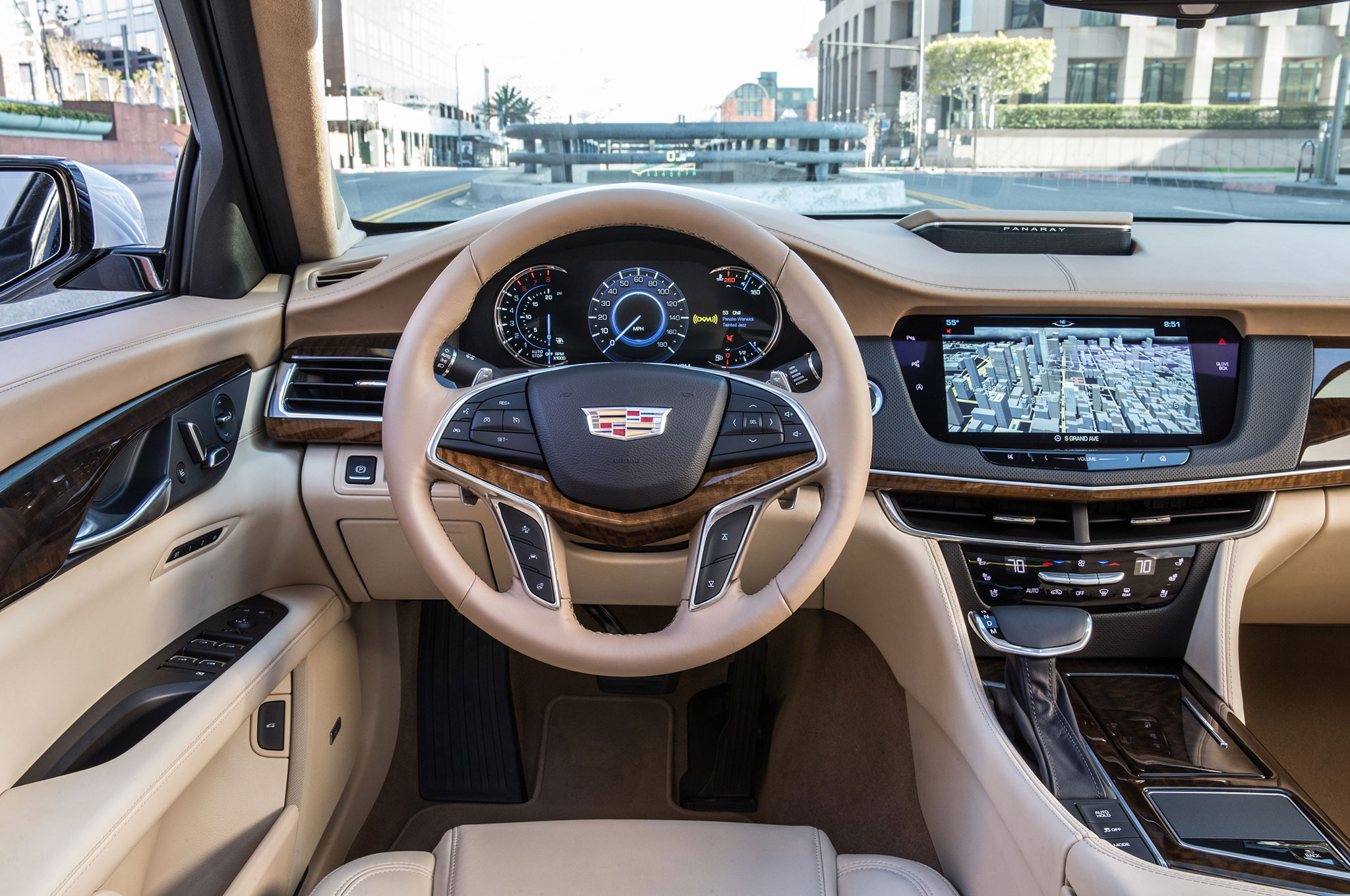 motion in cadillac inside front quarter review news three