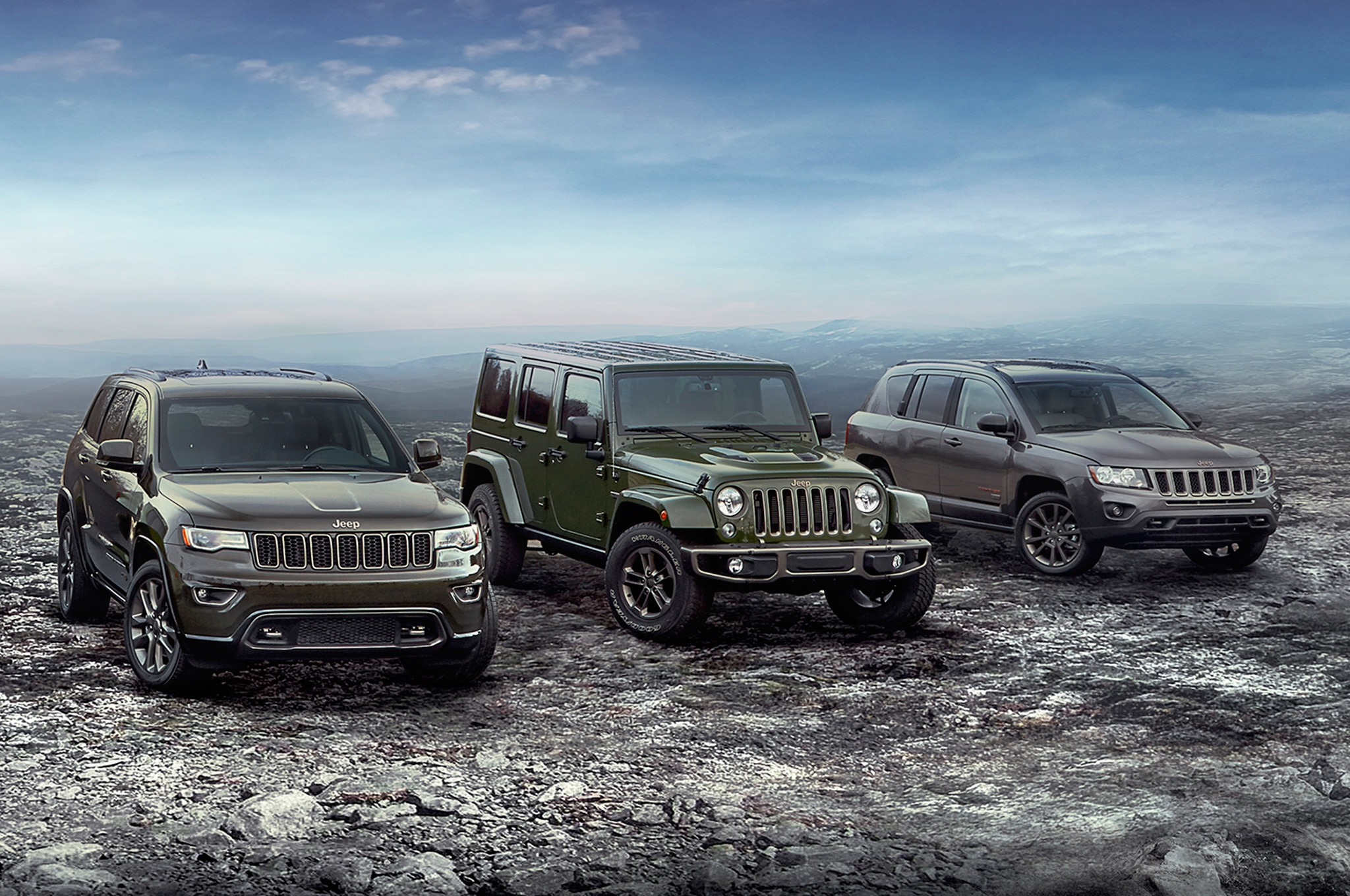Jeep Renegade Colors >> 2016 Jeep Lineup Adds 75th Anniversary Edition for All Models