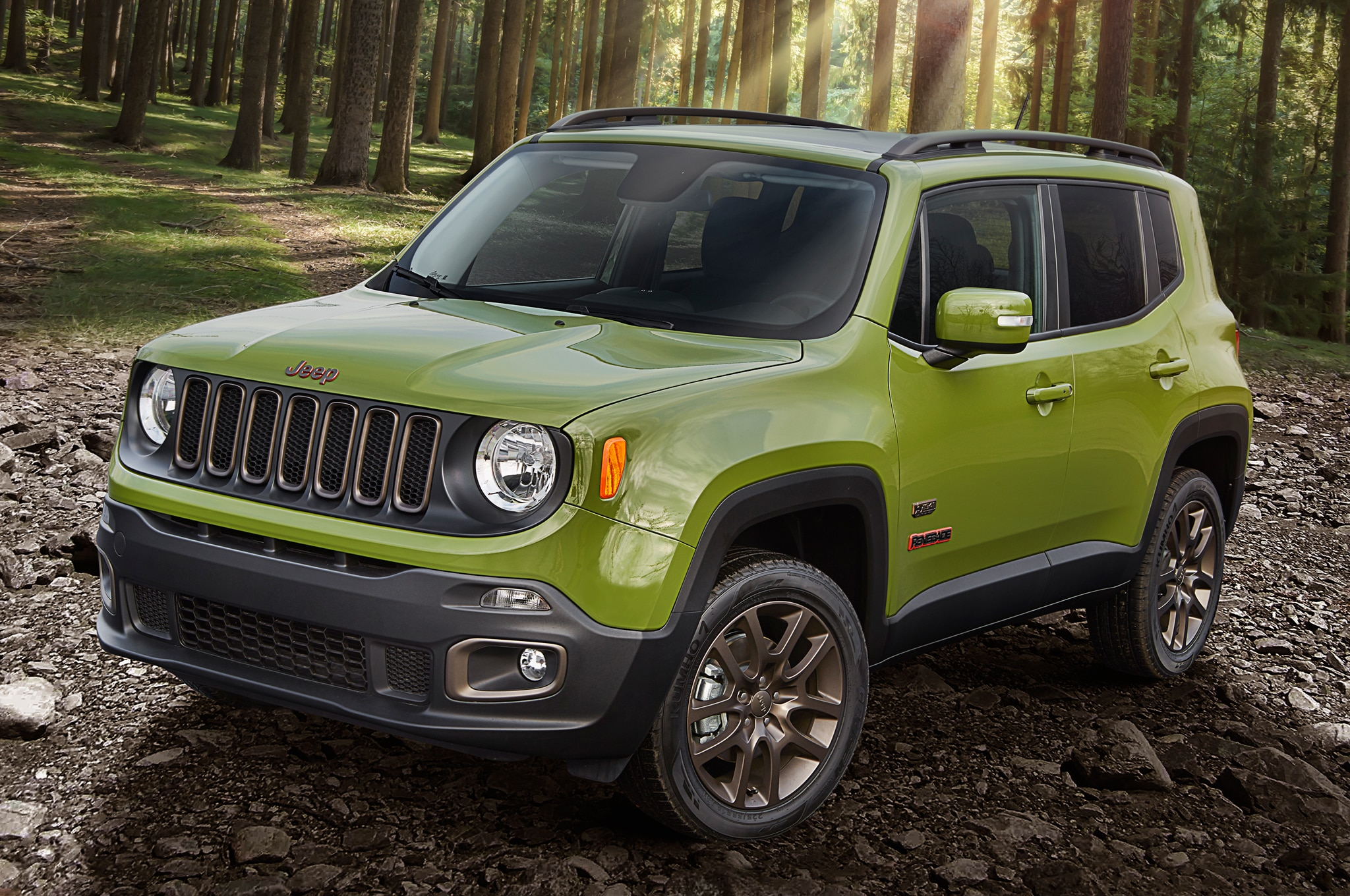 2016 Jeep Renegade 75th Anniversary Edition Front Three Quarter