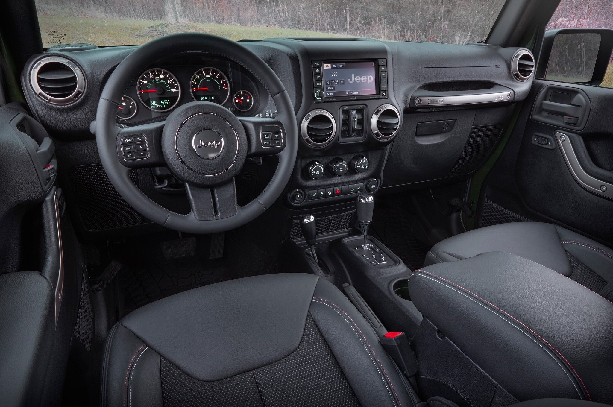 Jeep Wrangler Seats >> 2016 Jeep Lineup Adds 75th Anniversary Edition for All Models