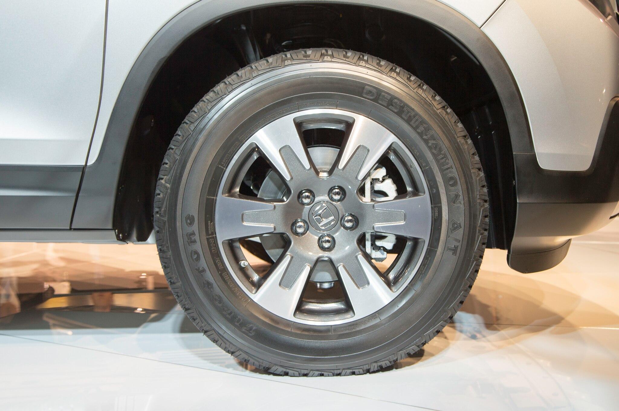 Image Result For Honda Ridgeline Tire Guide