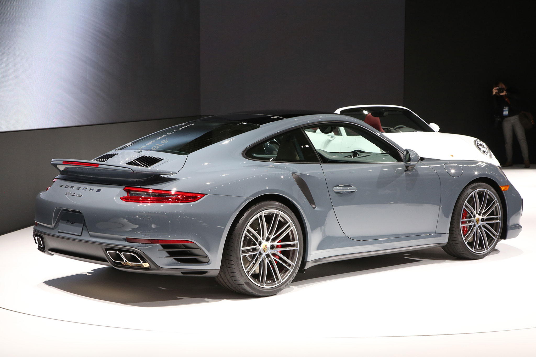 In The 2017 Porsche 911 Turbo S 3 8 Liter Twin Flat Six Output Rises From 520 Hp To 540 Thanks Redesigned Intake Ports New Fuel Injectors
