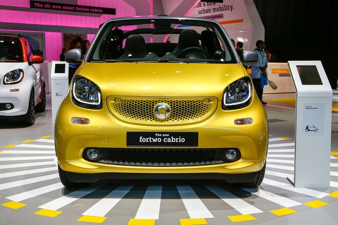 2017 Smart Fortwo Cabrio Front End1