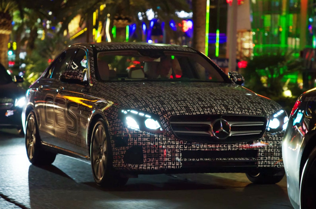 2017 Mercedes Benz E Class Ces Video