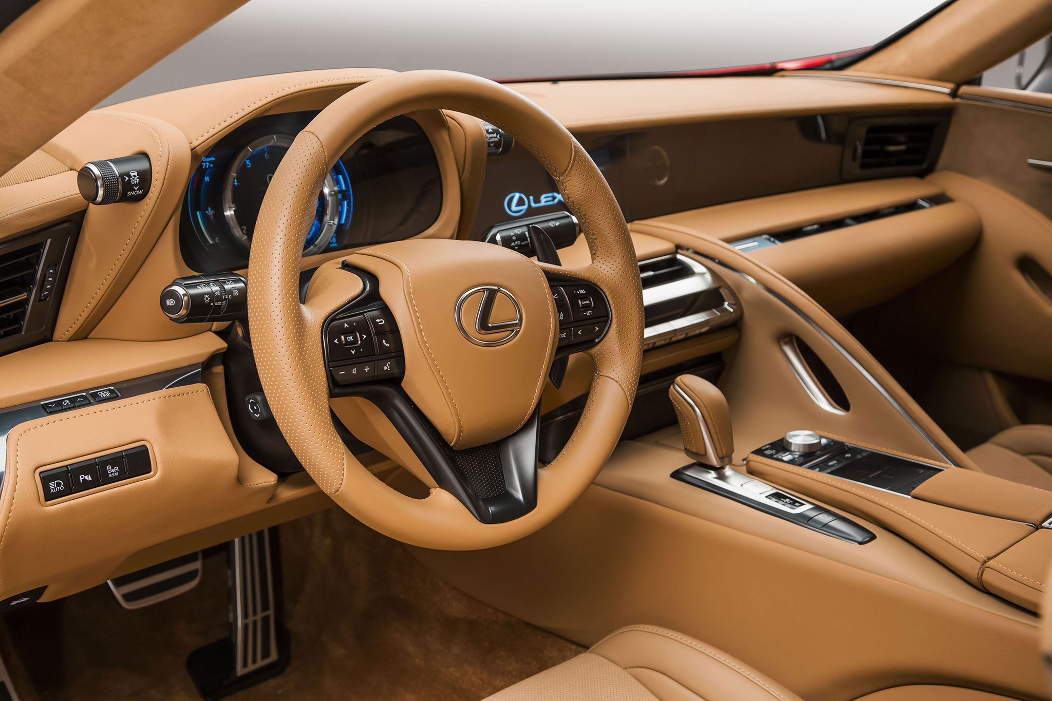 2017 Lexus LC 500: Toyoda\'s Vision for Lexus Comes into Focus