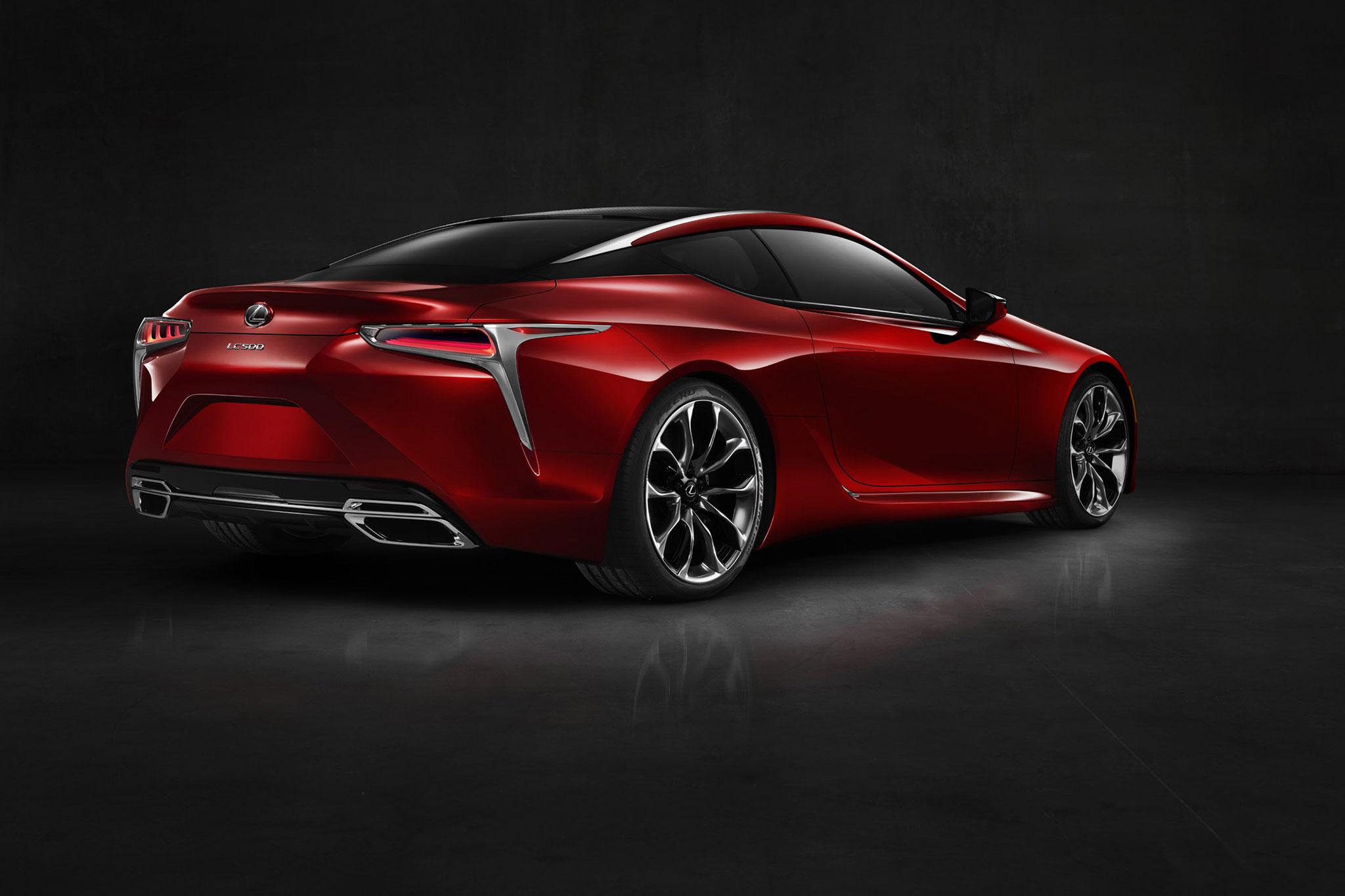2017 Lexus Lc 500 Toyoda S Vision For Lexus Comes Into Focus