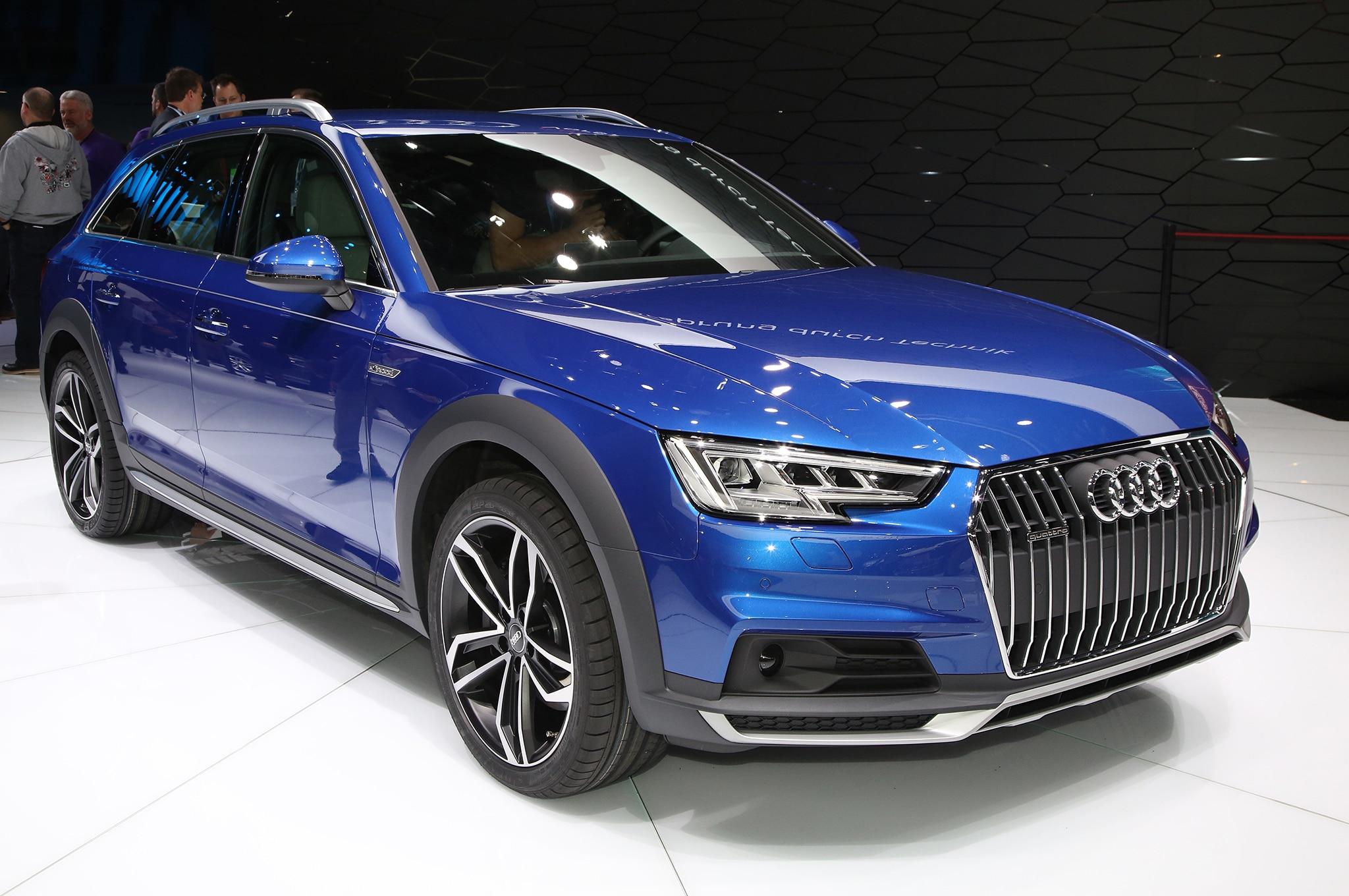 Audi A4 Allroad Quattro Live Reveal 01