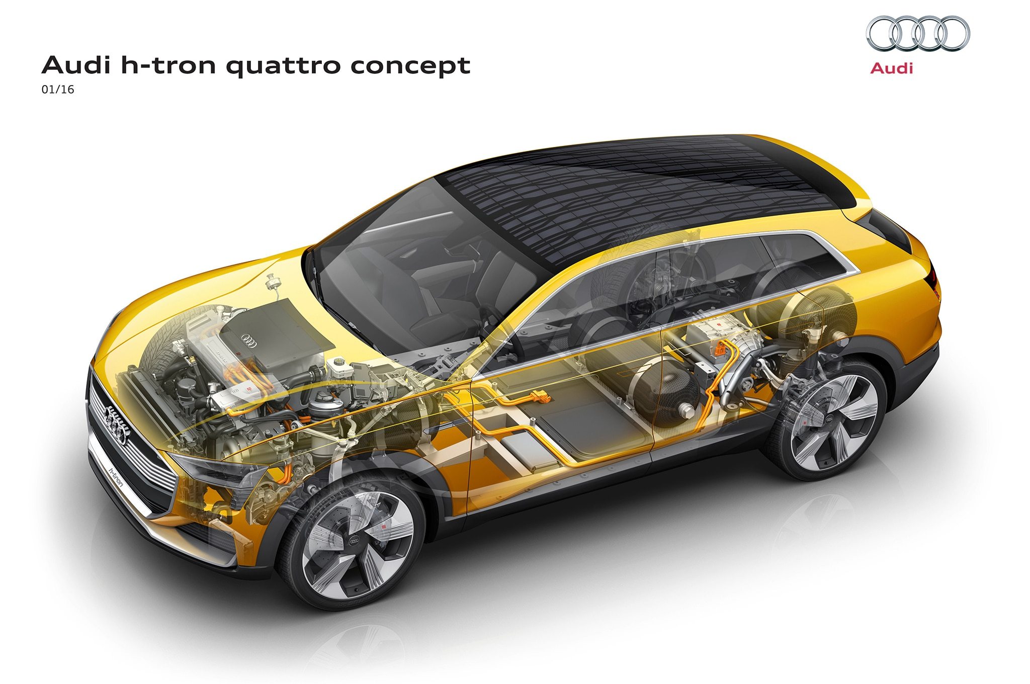 Audi Awd Diagram Explained Wiring Diagrams 2009 Q7 9 Cool Things To Know About The H Tron Concept Transmission