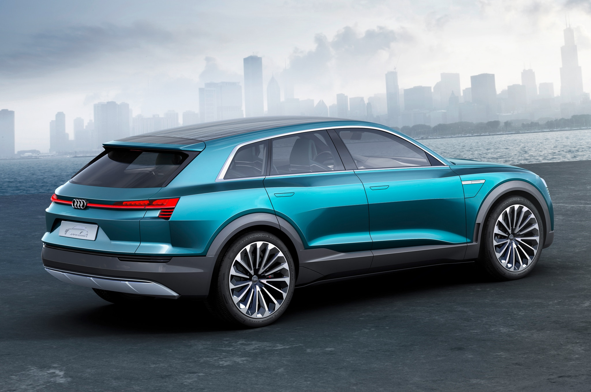 Audi Q 6 >> All-Electric Audi Q6 e-tron Coming in 2018 with 300+ Miles of Range
