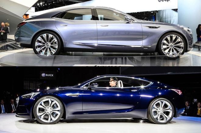 Buick Avenir And Avista Concepts Profile
