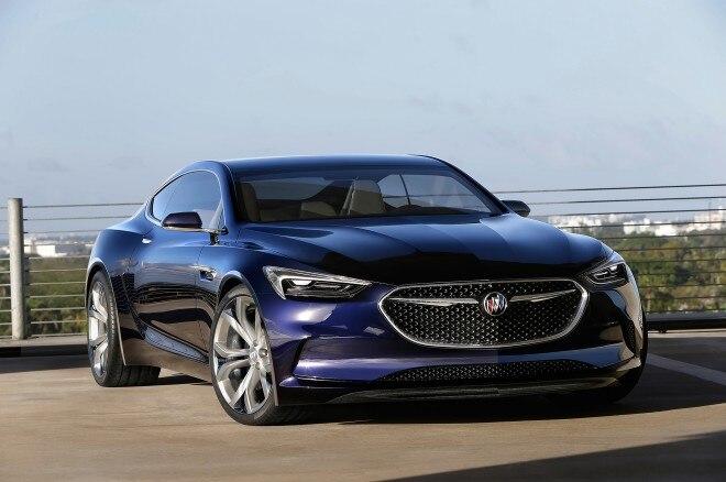 Buick Avista concept front three quarter 3