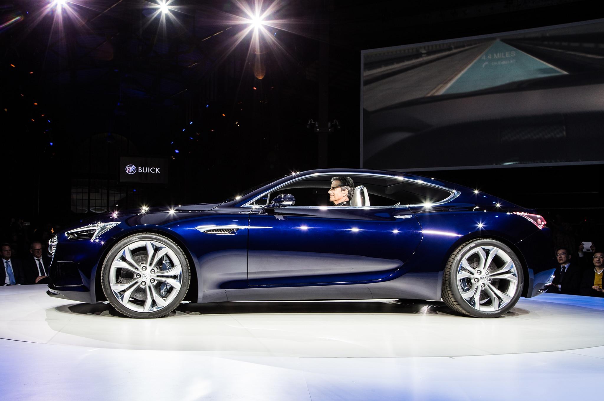 Buick Avista Concept Live Profile