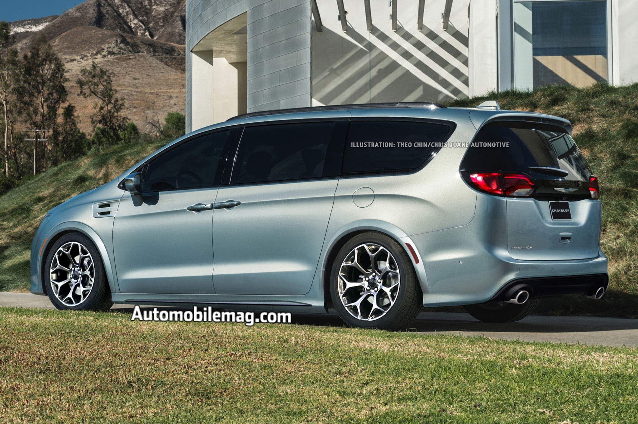 Never Be Late For School Again Imagining A Chrysler Pacifica Hellcat