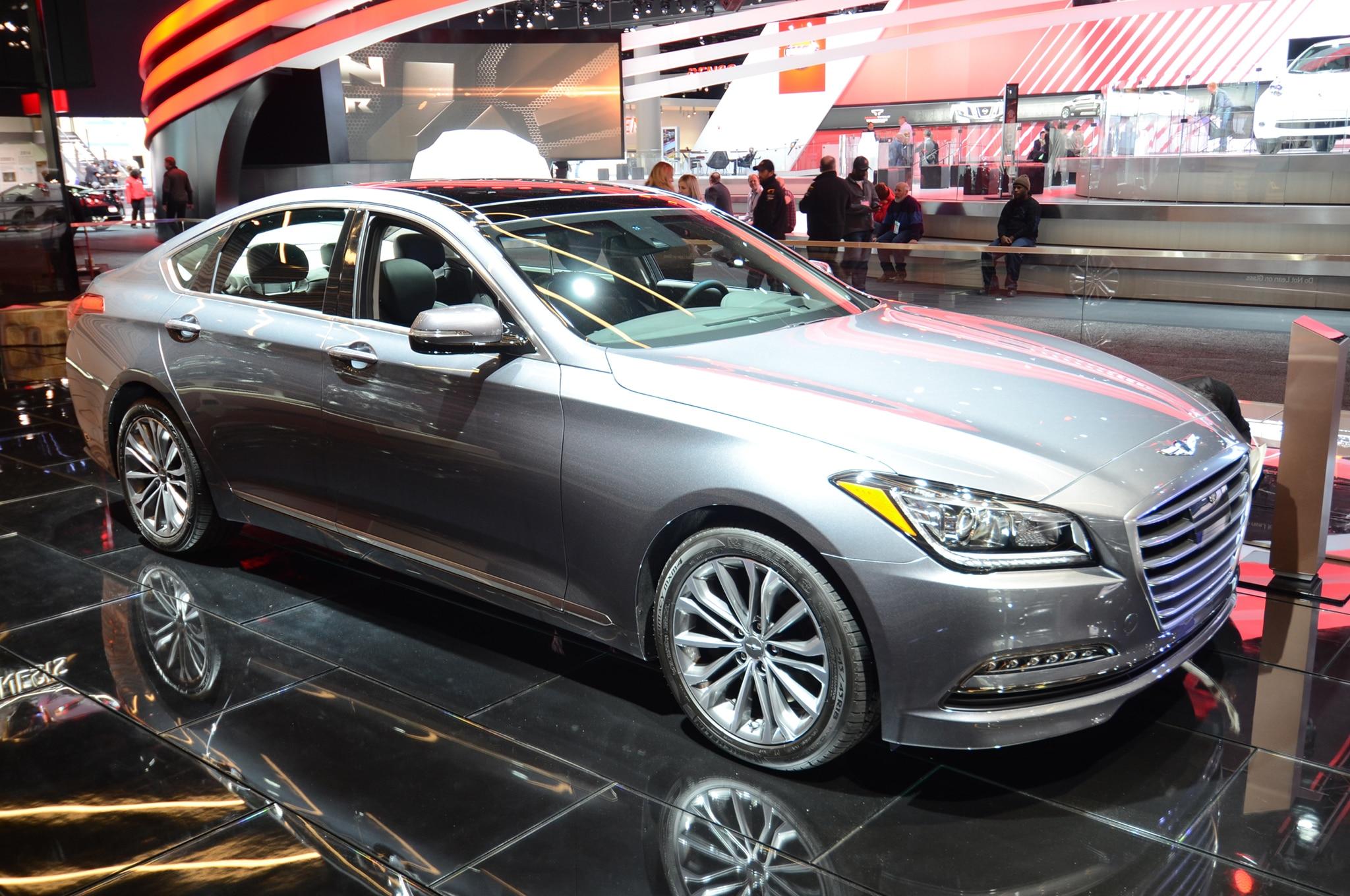 Genesis Coupe 2016 >> 2017 Genesis G80 Sedan Is a Rebadged Hyundai Genesis