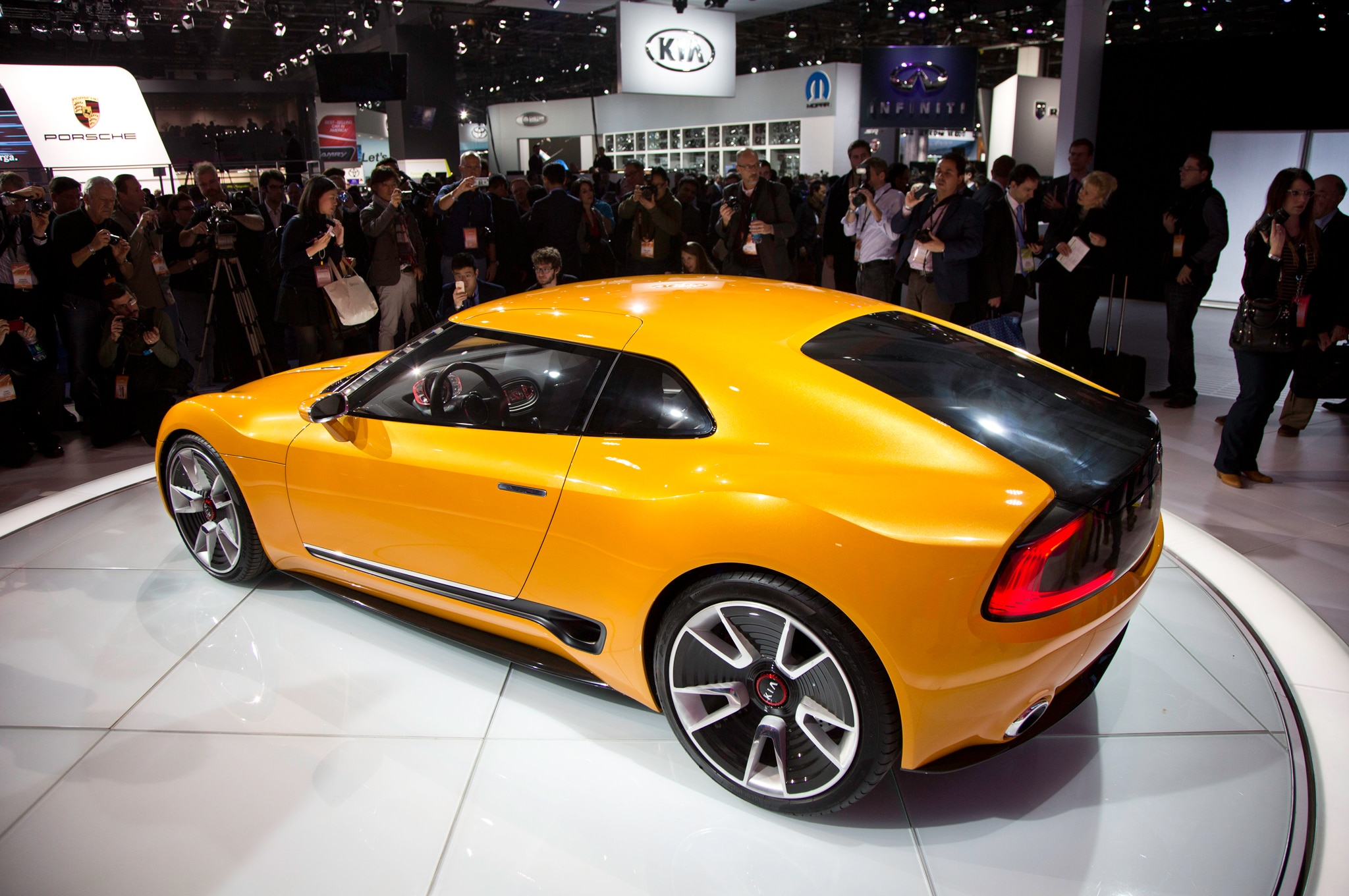 New Sports Car For Kia
