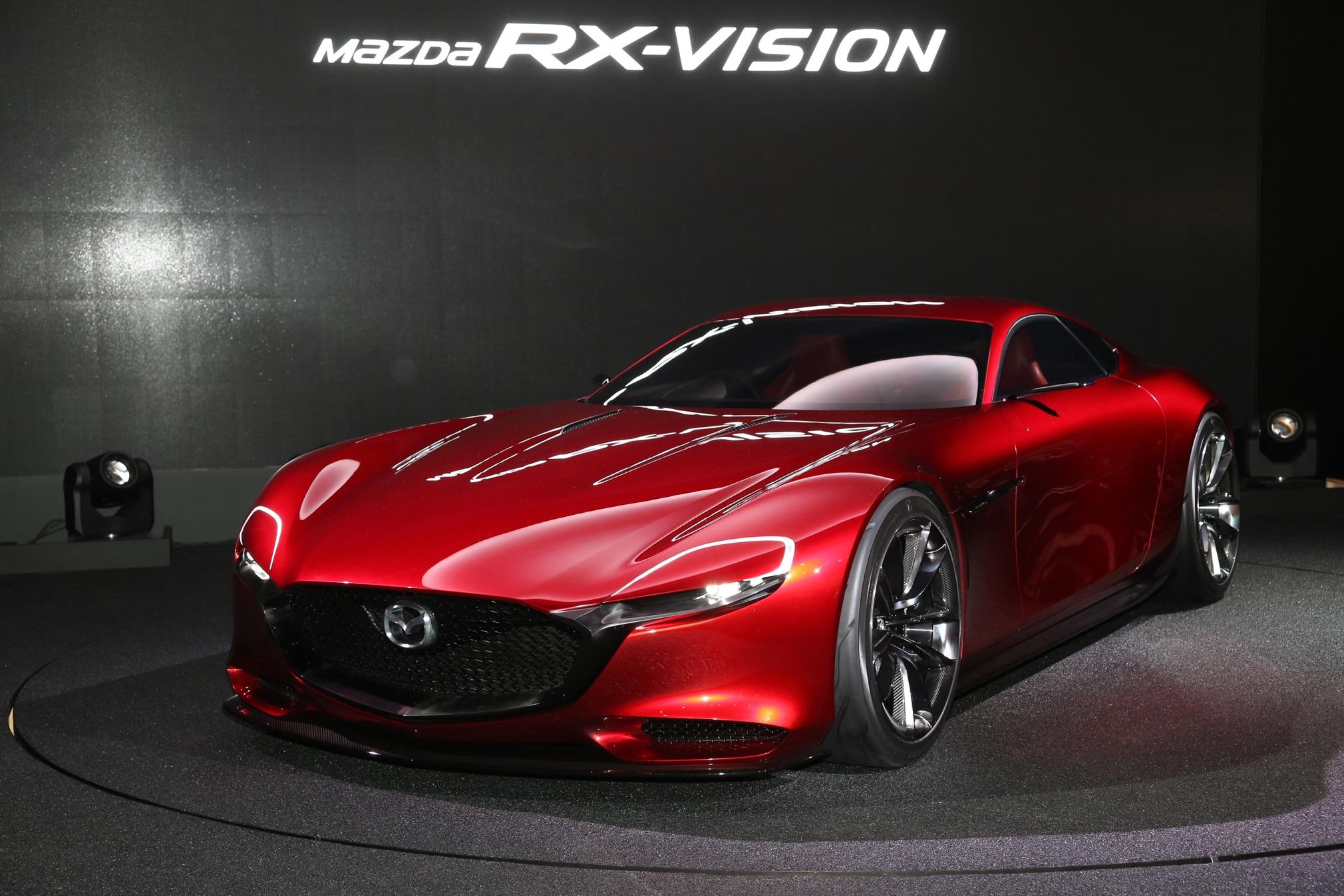 By Design: Mazda RX-Vision Concept