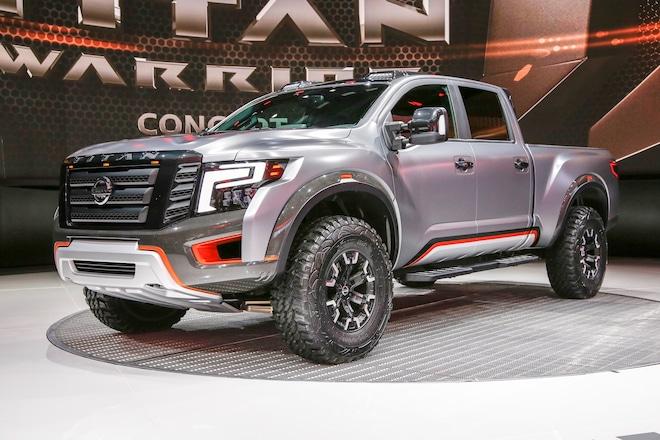 Nissan Titan Warrior Concept Is An Off Road Monster