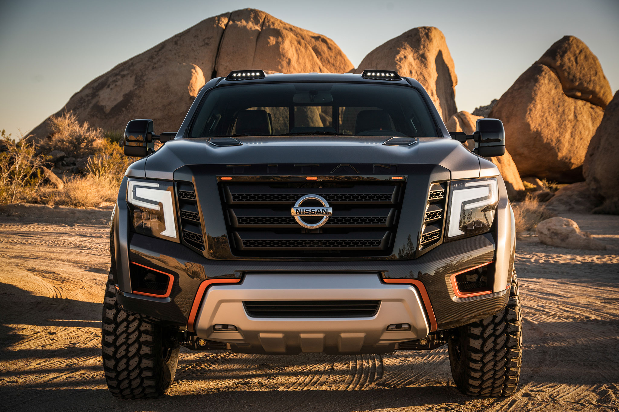 Nissan Titan Warrior Concept is an Off-Road Monster