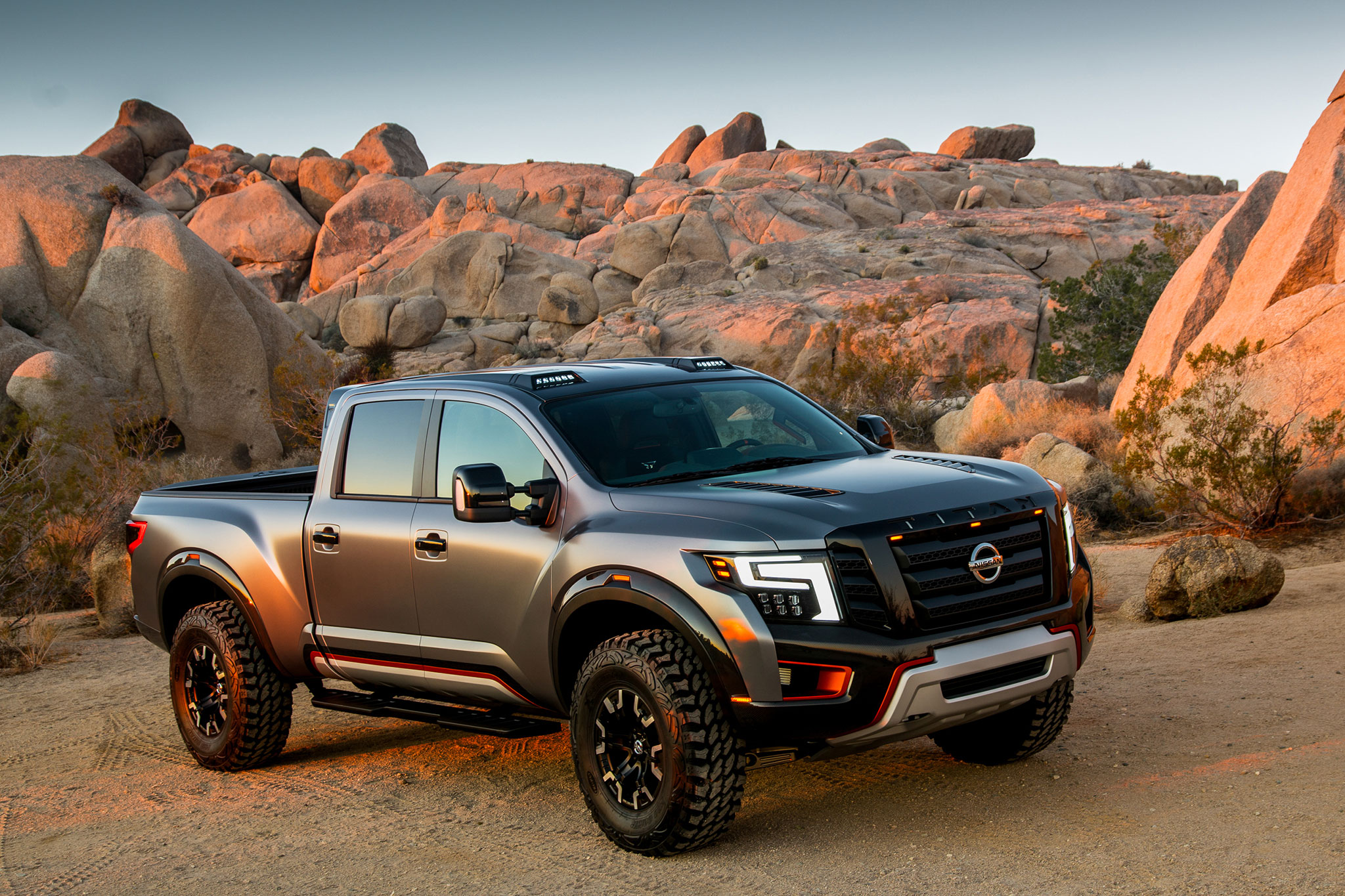 Best Pick Up Truck >> Nissan Titan Warrior Concept is an Off-Road Monster
